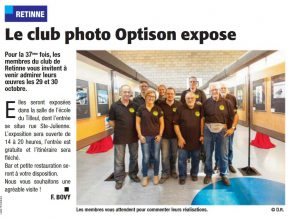VLAN, Le club photo Optison expose